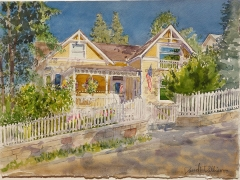 Dallison, David, Morning Light Telluride, 12 by 15, $1900
