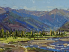 "Alison Leigh Menke ""Morning Light Over the Mountains of Telluride""- First Place Winner"