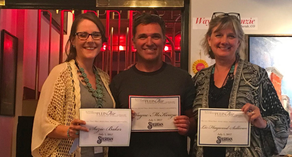 artist choice winners at telluride plein air festival